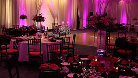 Rent Up Lighting for a Reception