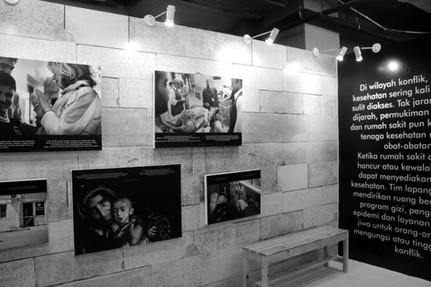 Medecins Sans Frontieres Exhibition
