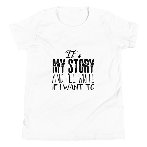 It's My Story Youth Short Sleeve T-Shirt