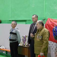 Традиционно к 15 февраля Черногорское отделение ХРО «БОЕВОЕ БРАТСТВО» провело турнир по баскетболу