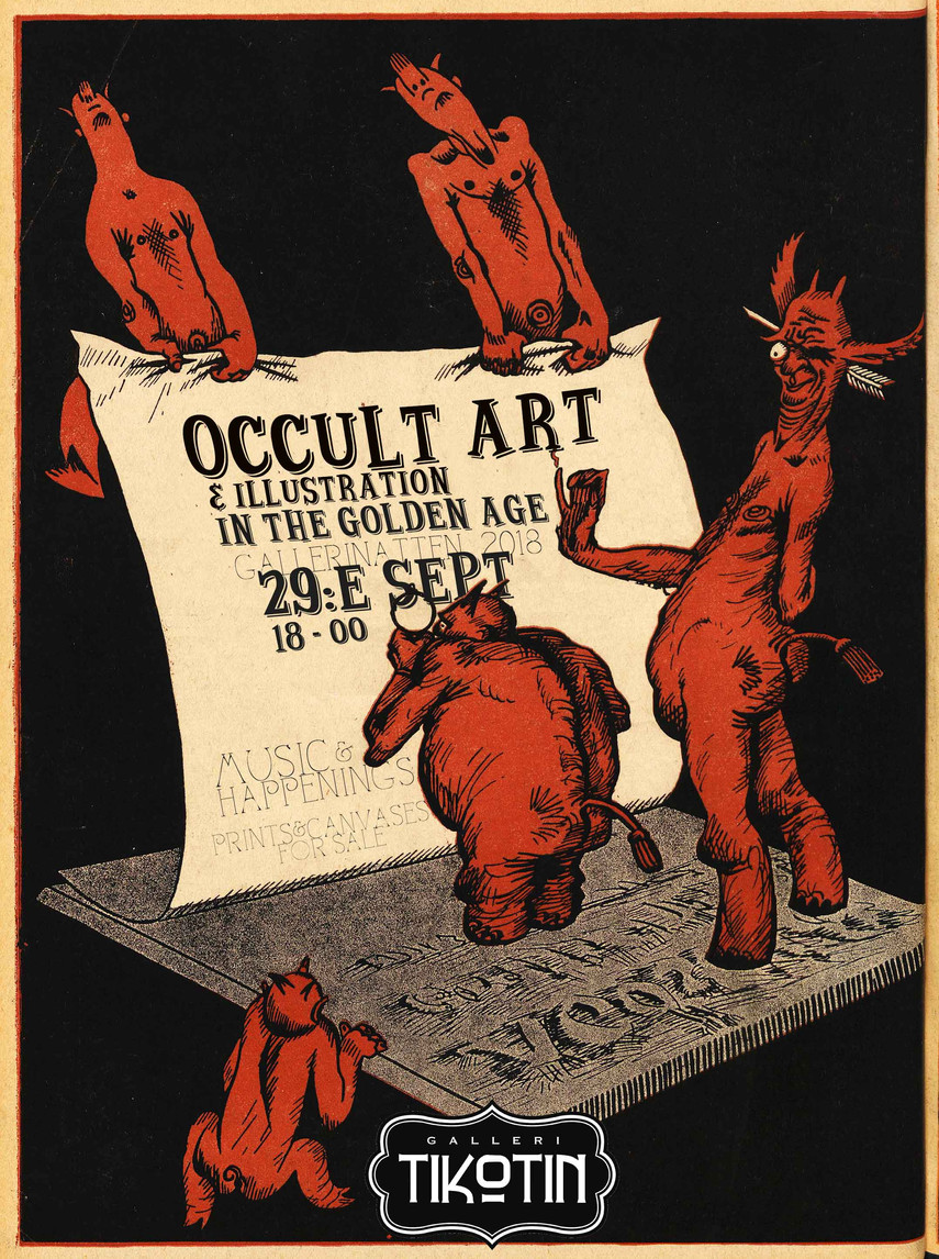 The occult art exhibition 2018