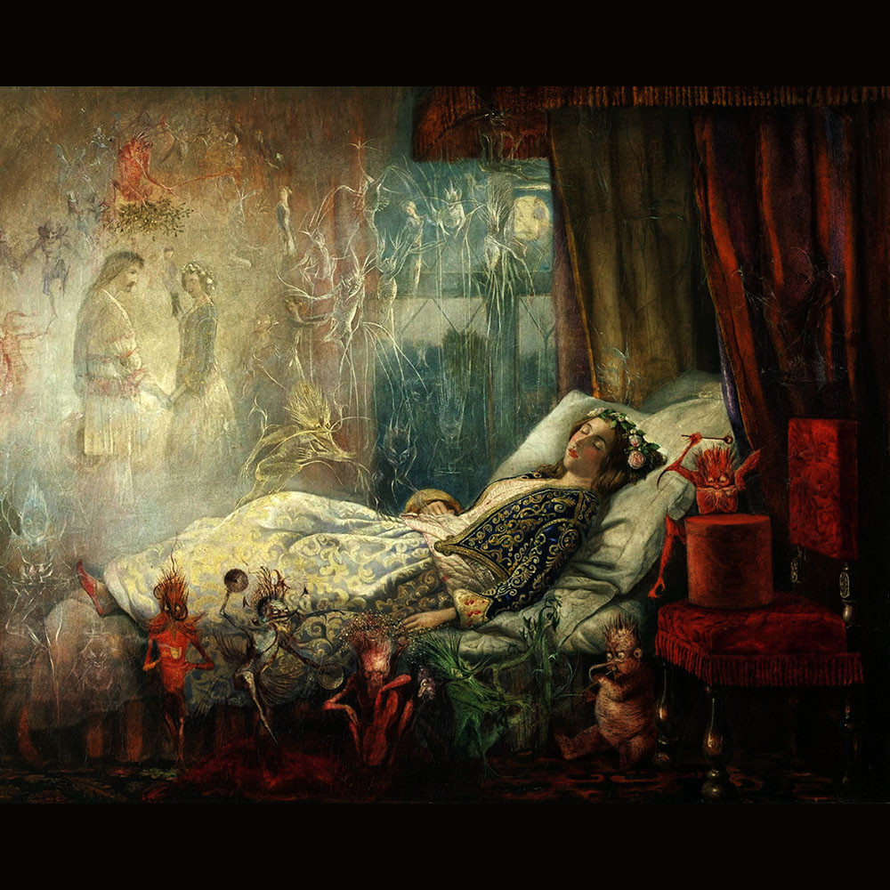 John Anster Fitzgerald, The stuff dreams are made of