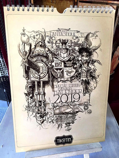 Kalender 2019 - LÁrt Fantastique