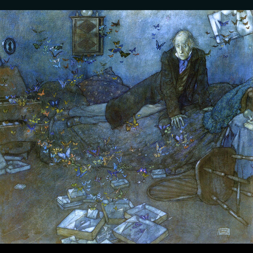Edmund Dulac - The Entomologist´s Dream