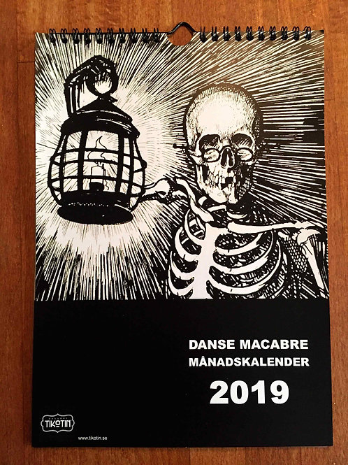 Månadskalender 2019 - Danse Makabre