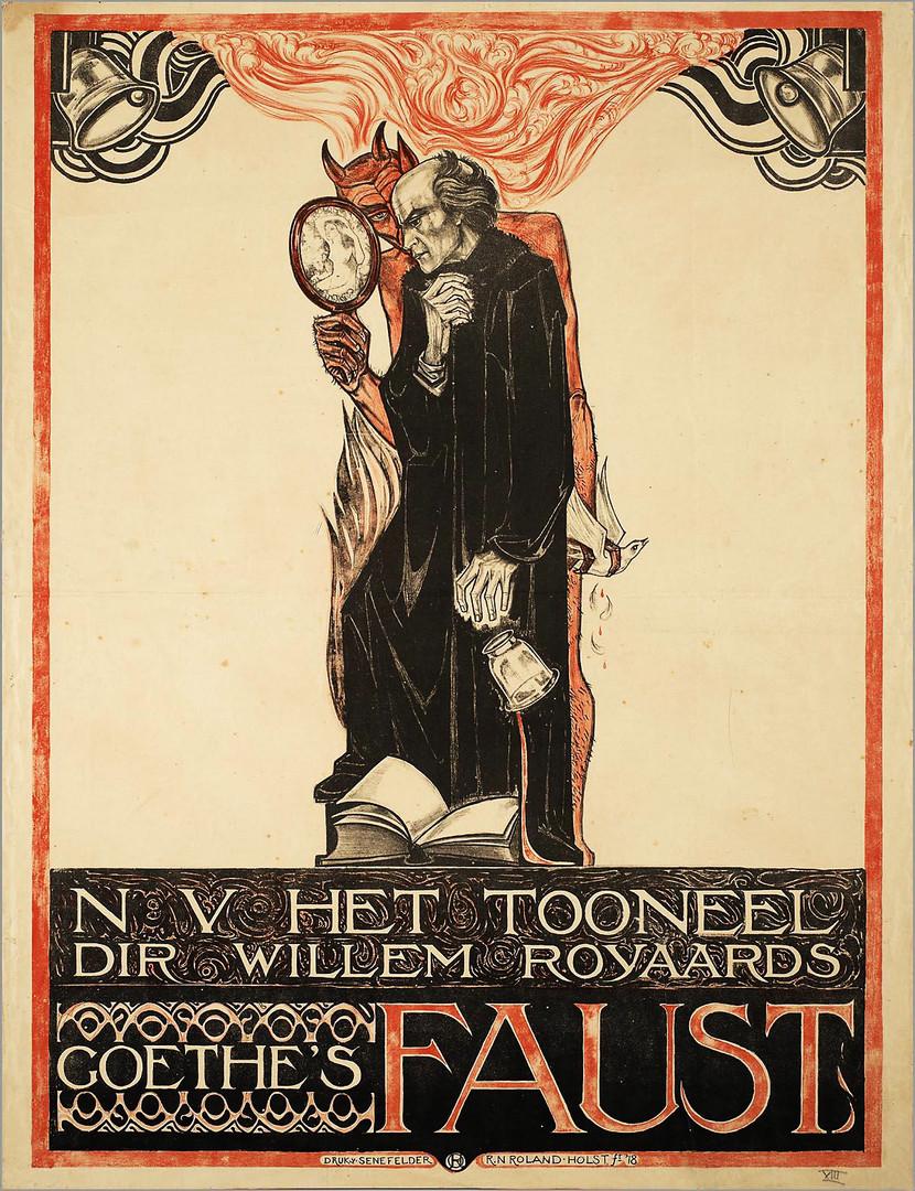 Goethe's Faust'- N V Het Tooneel