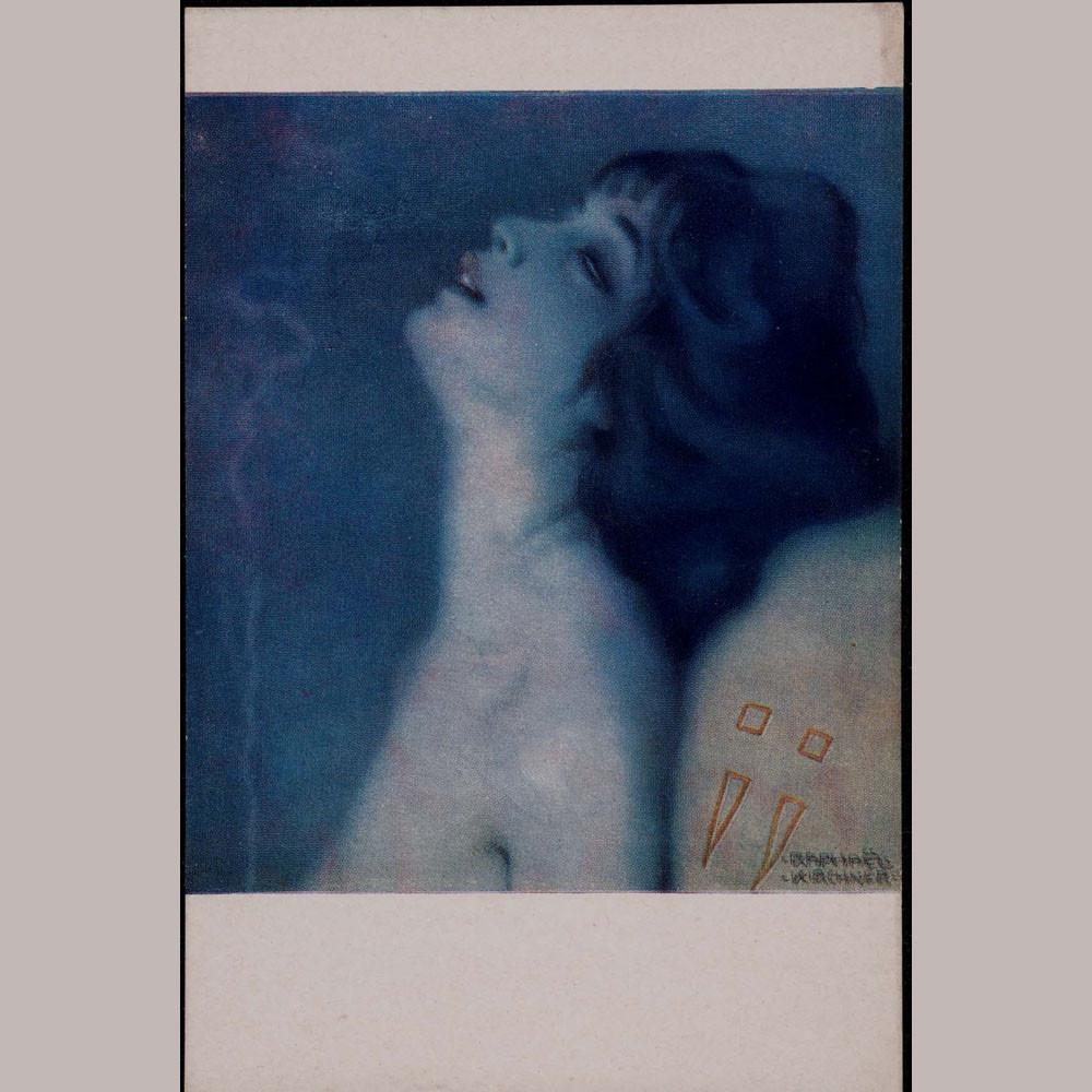 Raphael Kirchner - Lélie, fumeuse d'opium
