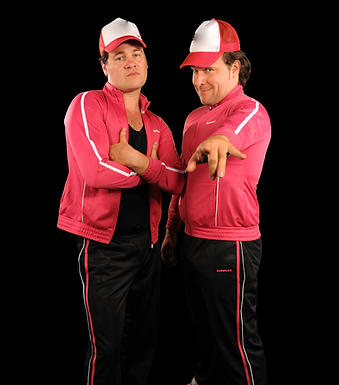 DJ Toitoi en Mc Dixi