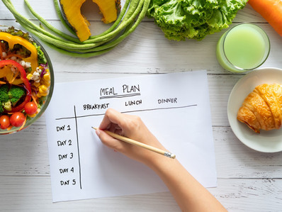 How to structure a diet for weight loss