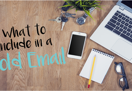 What to Include in a Cold Email