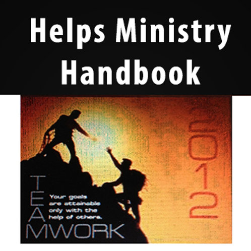 CD – Helps Ministry Booklet