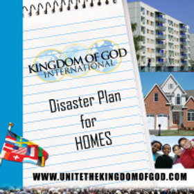 Booklet – Disaster Plan for Homes