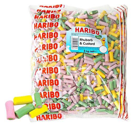 Haribo Rhubarb & Custard Tubes