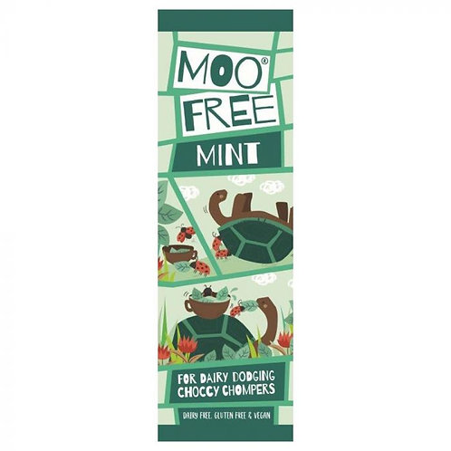 Moo Free Mint Chocolate Bar