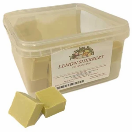 Lemon Sherbet Fudge