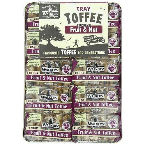 Walkers Fruit & Nut Toffee Tray