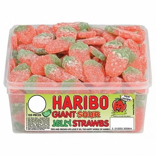 Haribo Giant Strawbs Zing