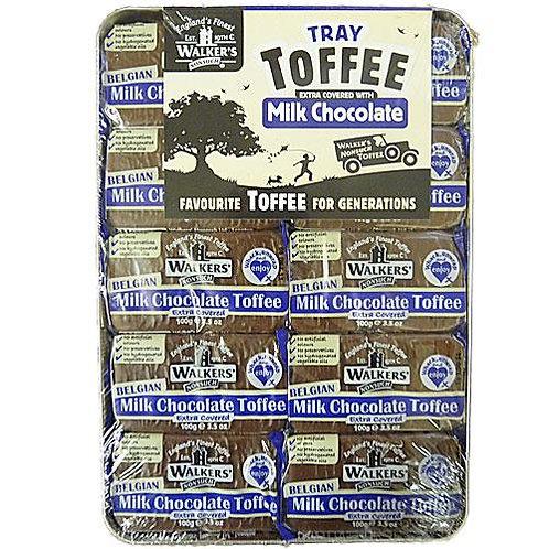 Walkers Milk Chocolate Toffee Tray