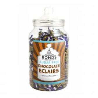 Sugar Free Chocolate Eclairs Jar