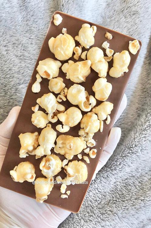 Popcorn Loaded Chocolate Bar