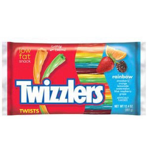 Twizzlers Rainbow Liquorice Twists