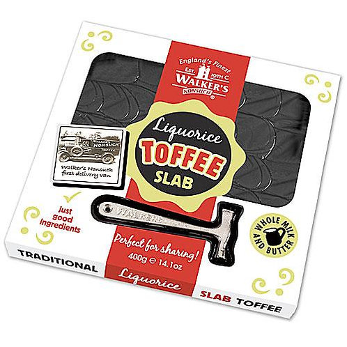 Walkers Liquorice Toffee Slab