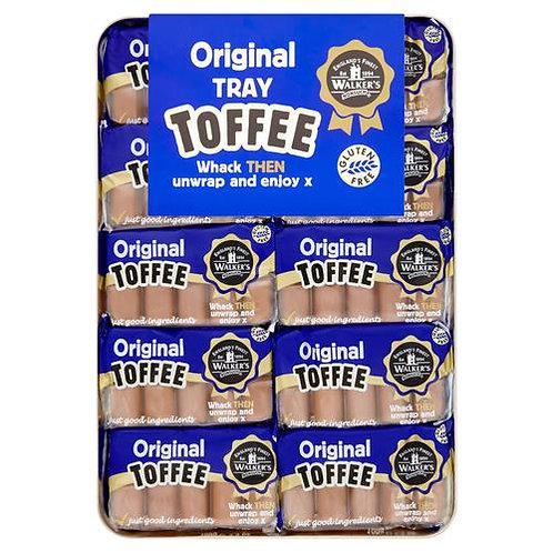 Walkers Original Creamy Toffee Tray