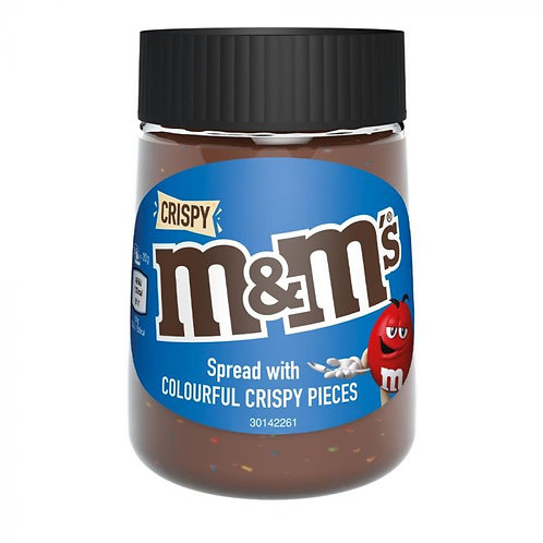 M&M's Crispy Milk Chocolate Hazelnut Spread