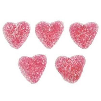 Pimlico Vegan Fizzy Jelly Strawberry Hearts