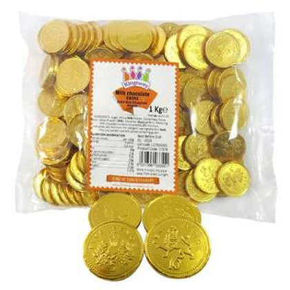 Chocolate Gold UK Sterling Coins