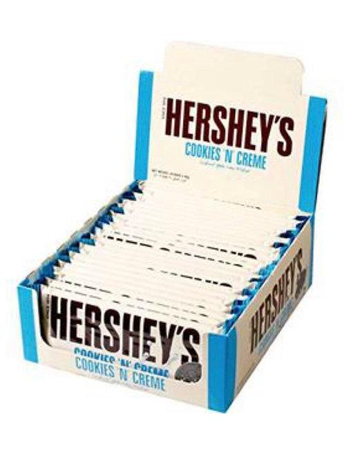 Hershey Cookies 'n' Creme Chocolate Bar