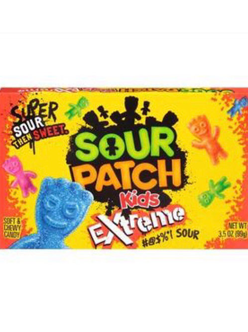 Sour Patch Kids Extreme Candy Theatre Box