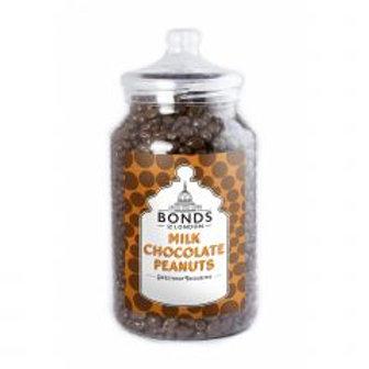 Chocolate Peanuts Jar