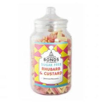 Sugar Free Rhubarb & Custard Jar