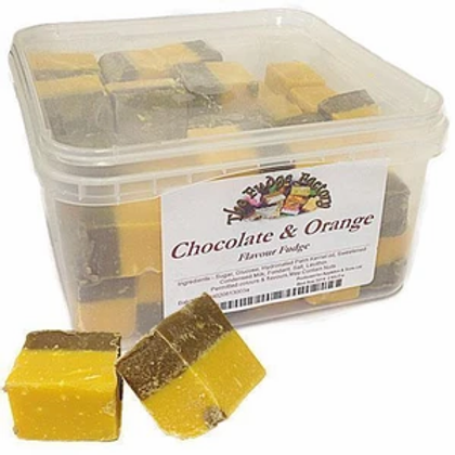 Chocolate & Orange Fudge