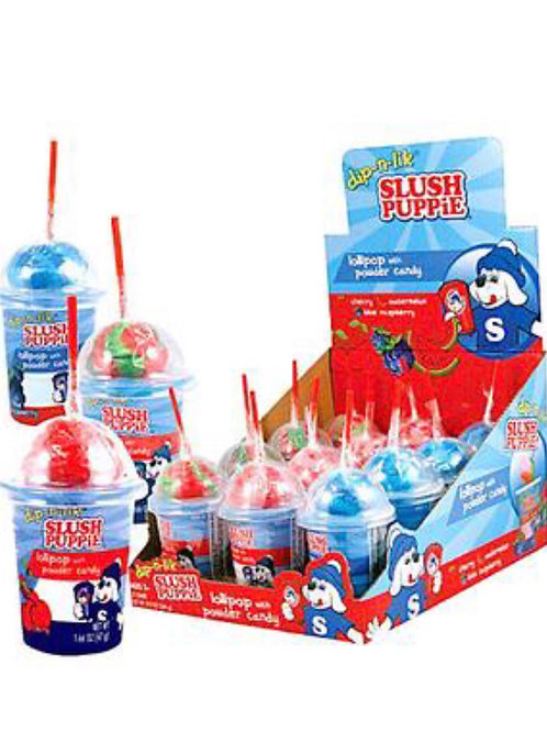 Slush Puppy Dip 'N' Lick Lollipops