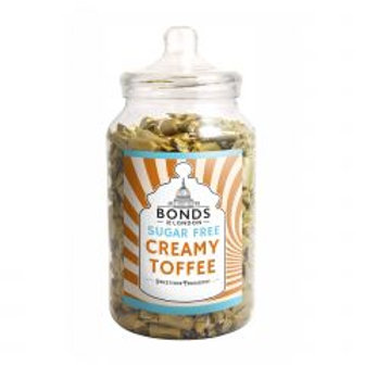 Sugar Free Creamy Toffee Jar