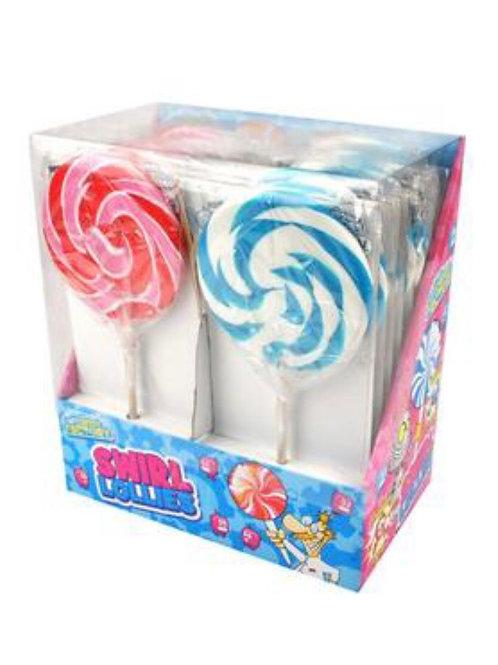 Strawberry & Bubblegum Swirl Pops