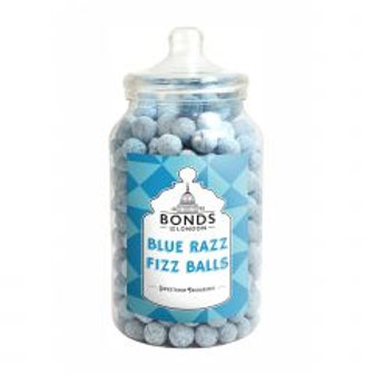 Blue Raspberry Fizz Balls Jar