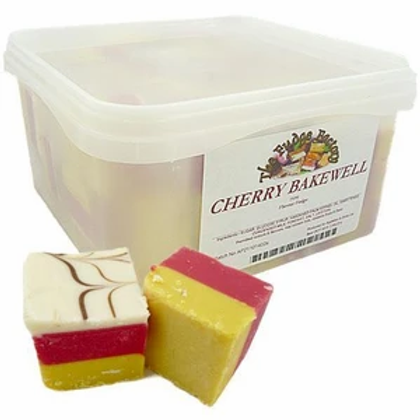 Cherry Bakewell Fudge