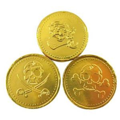 Chocolate Pirate Coins