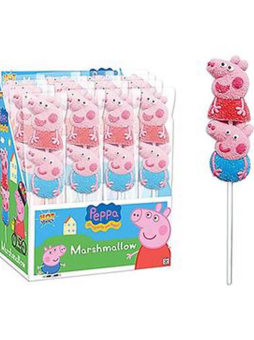 Peppa Pig Marshmallow Lollipops