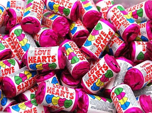 Swizzels Matlow Mini Love Hearts Rolls