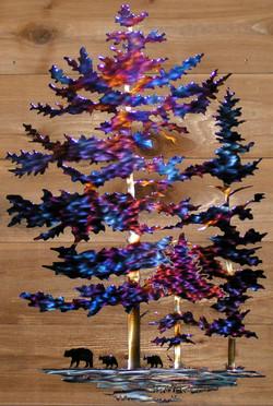 Tall Pines wall art