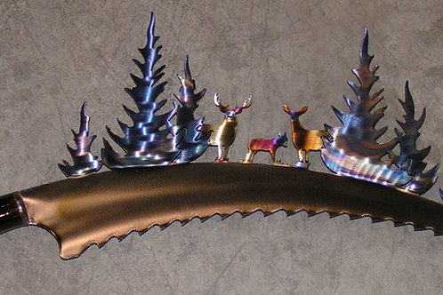 rustic,whitetail,deer,wall,art