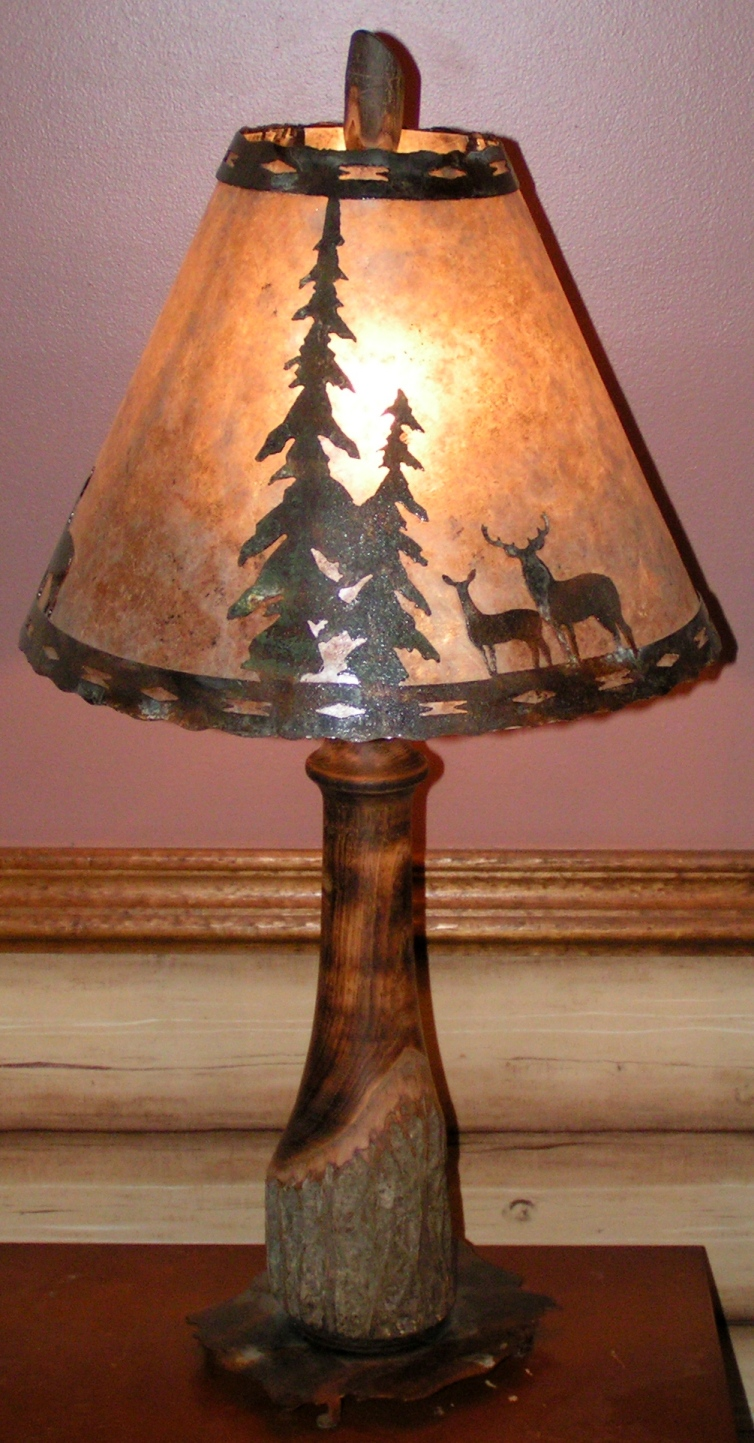 Hickory Table Lamps