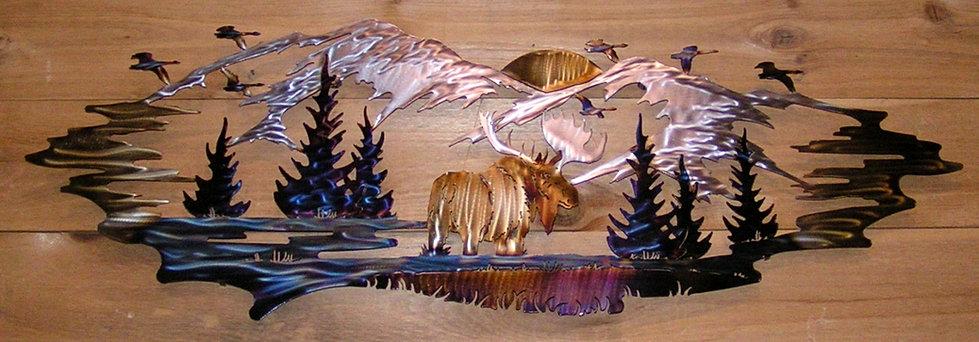 Hartcrafters Custom Wlidlife Animal Metal Art