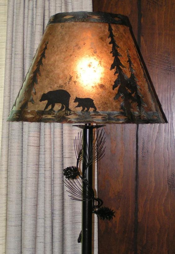 Pine cone Floor Lamps