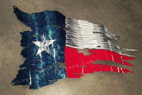 texas,state,metal,art,flags