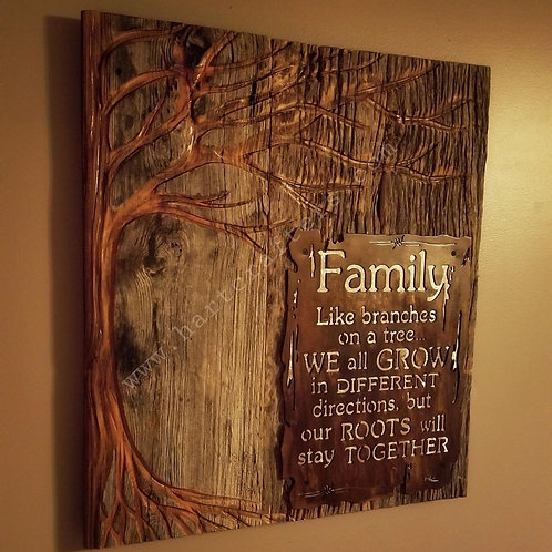Family Roots, Tree of Life wall art